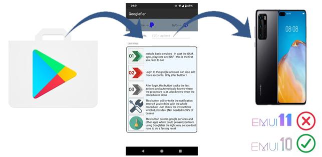 Installare le apps Google su Huawei