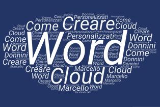 Creare Word Cloud