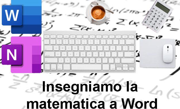 Word e Matematica